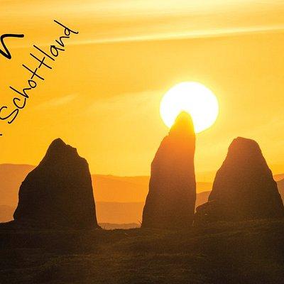 Callanish Steinkreise auf der Äußeren Hebrideninsel Lewis