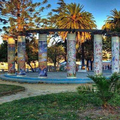 Plaza Bismarck, Cerro Cárcel