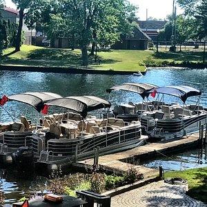 Orion Marine Pontoon Rentals & Historical Boat Tours