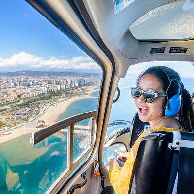 Barcelona 360º Premium, helicopter flight