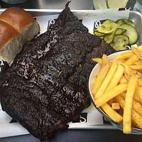 Ribs and french fries!!!
