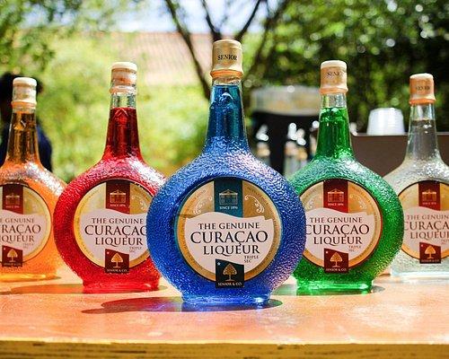 Taste the various liqueurs.