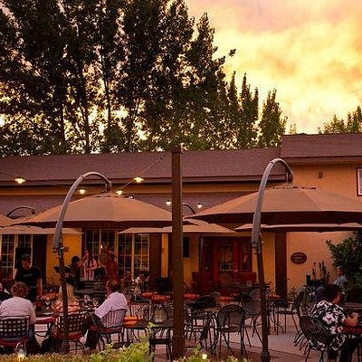 Our front patio is a great place to dine.  We have some of the best outdoor patios in town.
