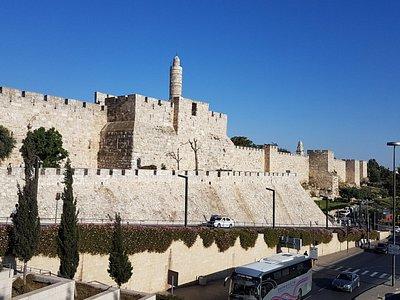 Mauer am Jaffa-Tor