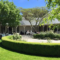 Palliser Estate Cellar Door, enjoy a platter in the summer sun