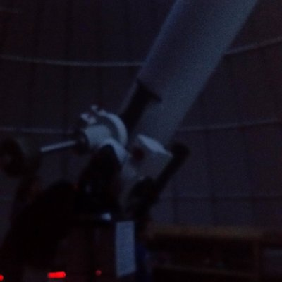 This is the huge telescope in the main dome through which I saw Jupiter.