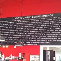 10 Coffee Commandments
