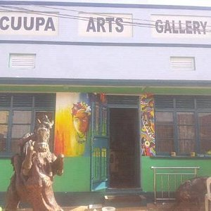 The latest look of Cuupa Arts Gallery.and lots of arts in the inside