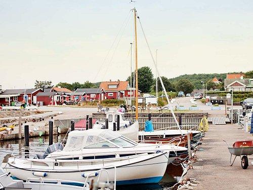 Båtar i Domstens hamn. Foto: Anna Alexander Olsson, Helsingborgs stad.