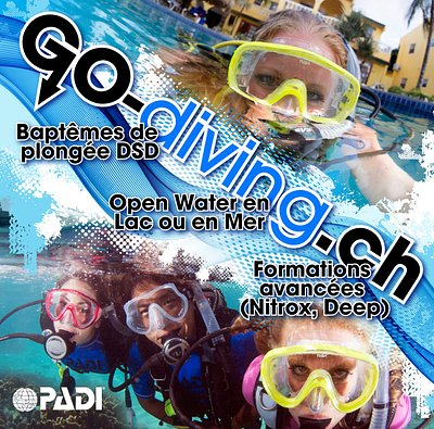 Go-diving à Sion, Resort PADI