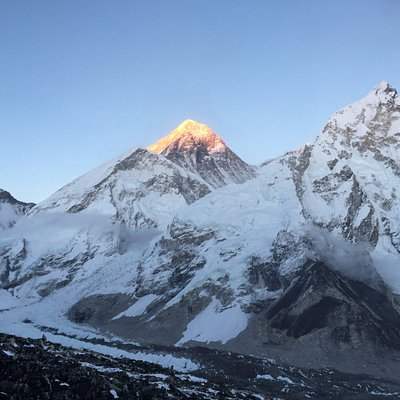 Sunset at Mt.Everest