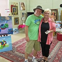 Patt Legg, Artist of Fine Art, takes time to talk about her work with me.