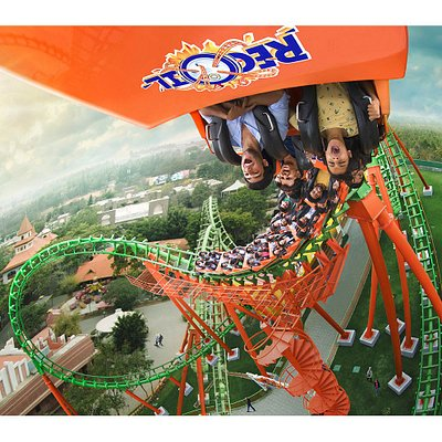 Recoil, India's First Reverse Looping Roller Coaster