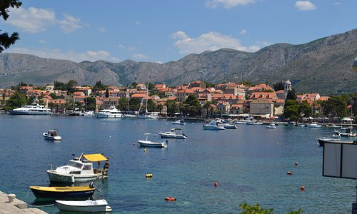 View of Cavtat harbour