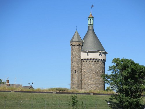 fort reno water tower
