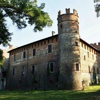 L'esterno del castello