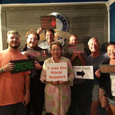 Winners of our first Escape Room