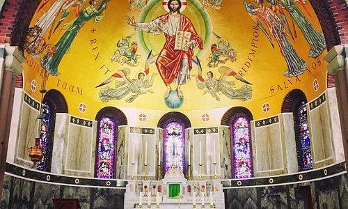 How magnificent is this!  Inside St Joseph's Church, Burslem