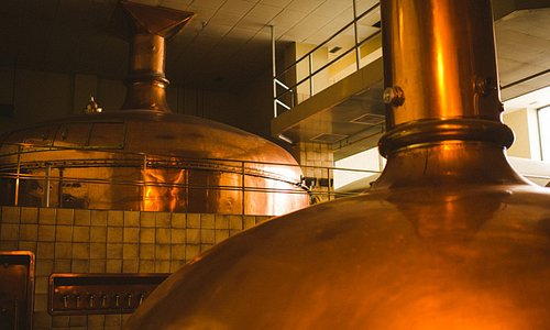 Moosehead Breweries Copper kettles.