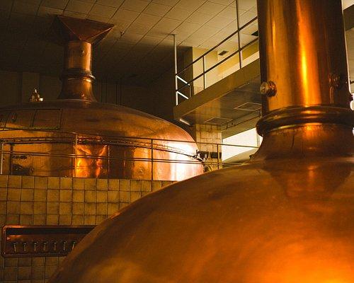 Moosehead Breweries Copper kettles.