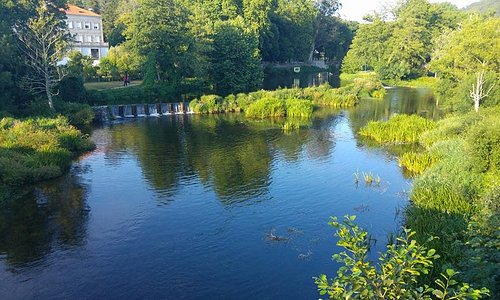 Beautiful river setting!