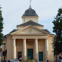 St Symphorien church Main entrance