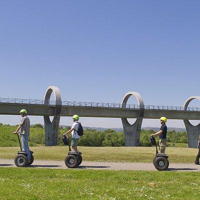 Falkirk Wheel Segway in Summer
