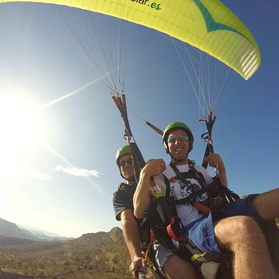 Paragliding Costa Blanca from Benidorm with Outbound Adventures