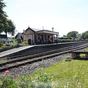 Bodiam Station, East Sussex.