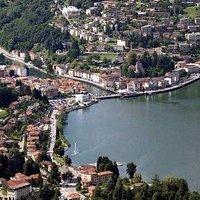 Ponte Tresa (Italie et Suisse)