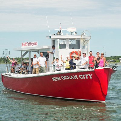 The Best Bay Fishing Boat of Ocean City! Start your next adventure with Miss Ocean City