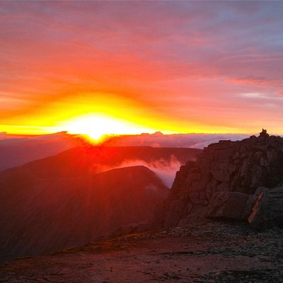 Sunrise from Ben Nevis on our Summer Solstice Event 2017...Maybe see you next year?