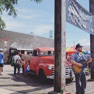 Red River Market Entrance