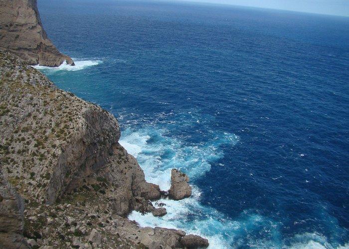 El azul Mediterráneo en todo su esplendor