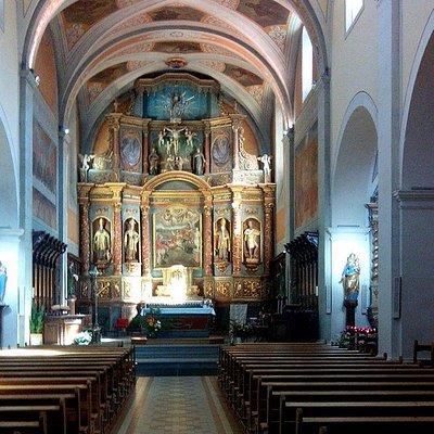 L'église de St Maurice