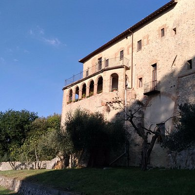 Vista sud del convento