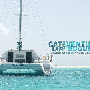 www.cataventuralosroques.com Charter privado de Catamaran en los Roques