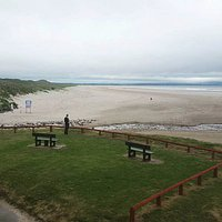 Enniscrone Beach panorama