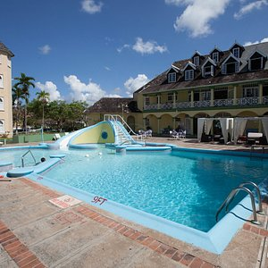 The Pool at the Sand Castles Resort