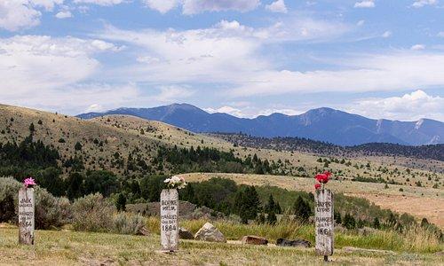 Boot Hill Cemetery, Virginia City, Montana