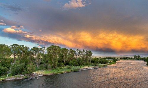 Madison River, Ennis, Montana