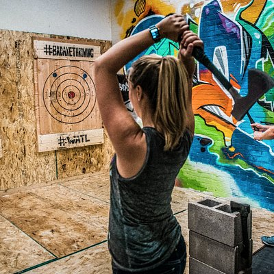 Proud member of World Axe Throwing League