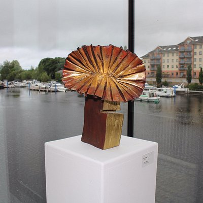 One of the exciting sculptures by Larry O'Neill