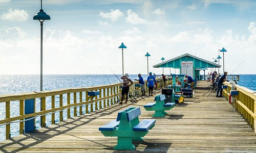 Our Iconic Anglin's Fishing Pier is great for fishing, watching people fishing, or just watching