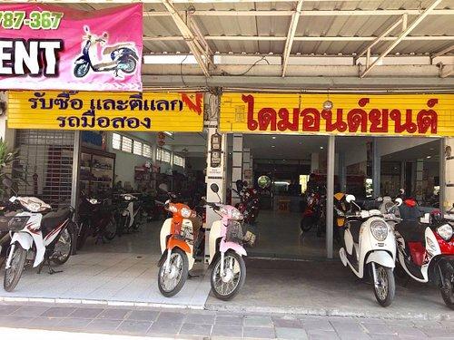 Korat Bike Rental @ Diamond yont, the biggest bike rental shop in Korat. Call: +66(0)85-611-6615