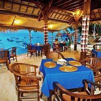 Lubung Bali Restaurant with Beach view