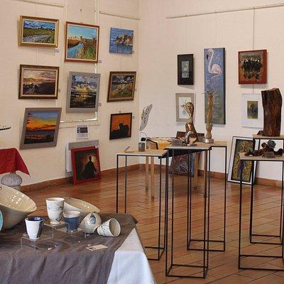 Exposition Talents d'Art, juin 2017, au Relais Culturel