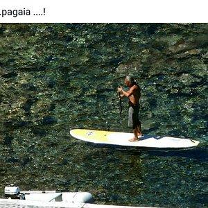 Capraia tra canoe, sup e mare!