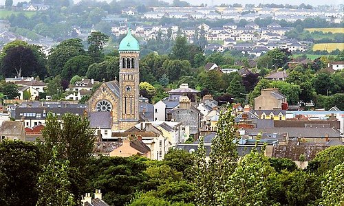 Clonmel Town in the Republic of Ireland