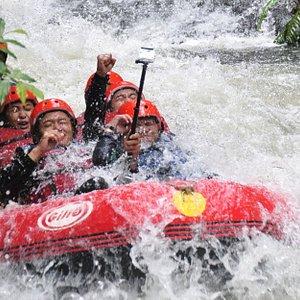 Palayangan River Rafting, Grade III, Guide Bersertifikat, Free Aula/Gazebo, Toilet Bersih